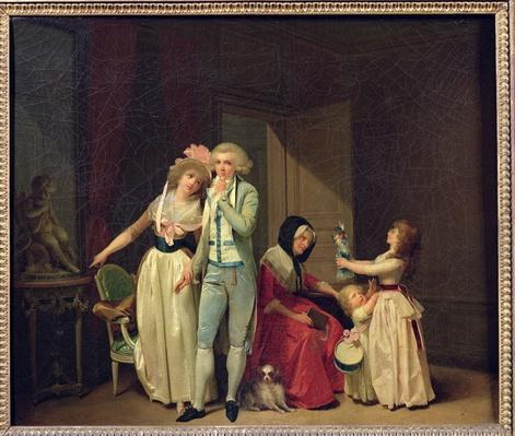Those who Inspire Love Extinguish it, or The Philosopher, 1790