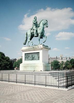 Equestrian statue of Henri IV