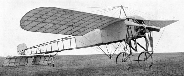 Bleriot monoplane | The Evolution of Military Aviation