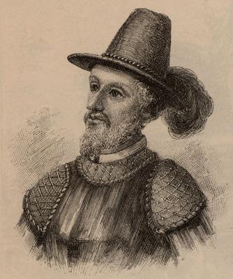 Portrait of Juan Ponce De Leon | Famous Explorers