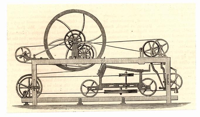 Spinning mule machine | Industrial Revolution