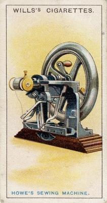 First lockstitch sewing machine | Industrial Revolution