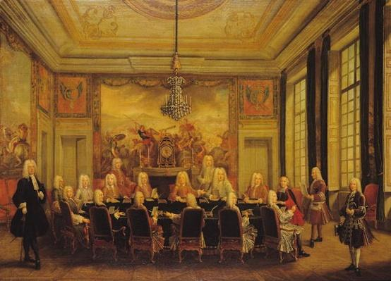 The Council of Regency for the Minority of Louis XV