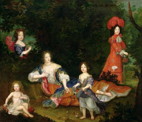 Portrait of Francoise-Athenais de Rochechouart-Mortemart