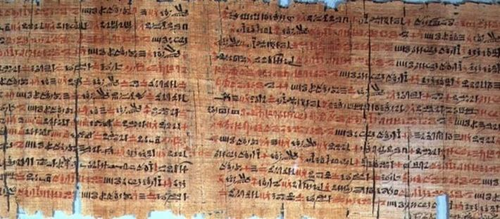 The Chester Beatty Medical Papyrus, New Kingdom, c.1200BC
