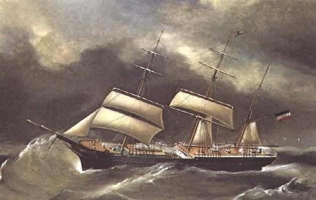The Barque `Henry'