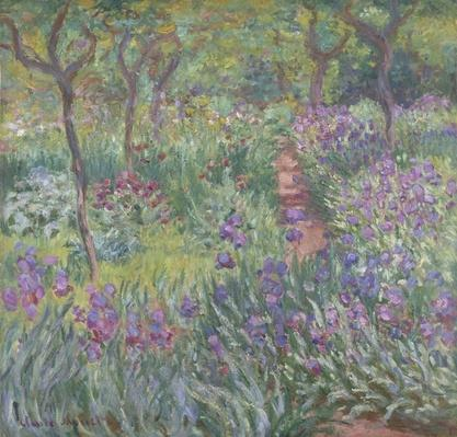 The Artist?s Garden in Giverny, 1900