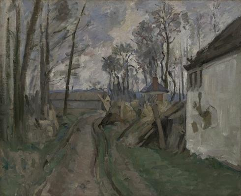 A Village Road near Auvers, 1872-73