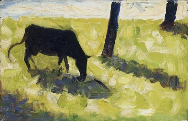 Black Cow in a Meadow, 1881