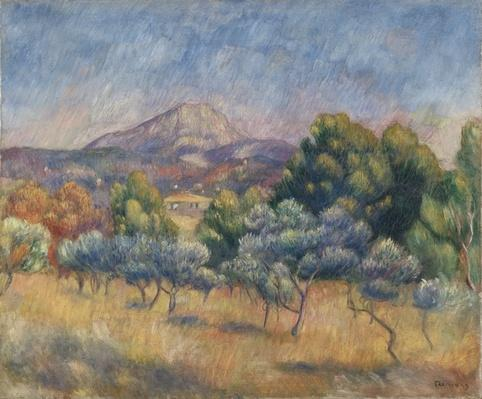 Mount of Sainte-Victoire, c.1888-89