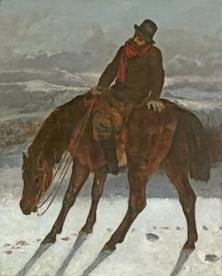 Hunter on Horseback, c.1864