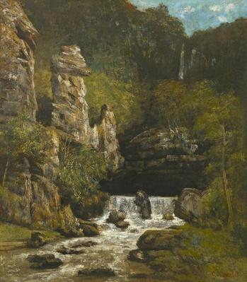 Landscape with a Waterfall, c.1865