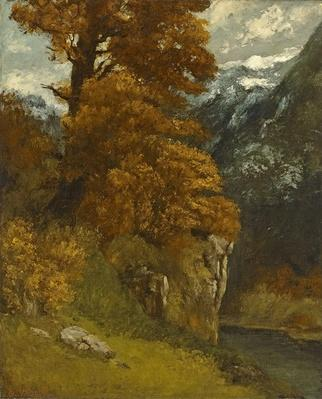 The Glen at Ornans, 1866