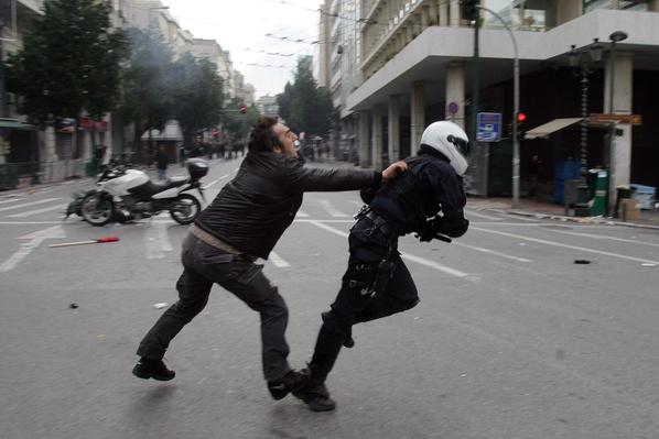 Violent Clashes In Athens Mark The First Anniversary Of Police Killing | The 20th Century Since 1945: Civil Rights & the New Millennium