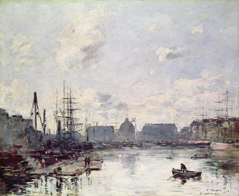 The Port of Trade, Le Havre, 1892