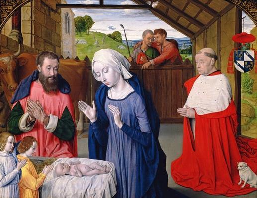The Nativity of Cardinal Rolin