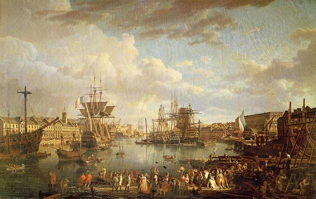 View of the Port at Brest