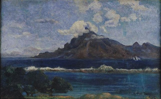 Coastal Martinique Landscape, 1887