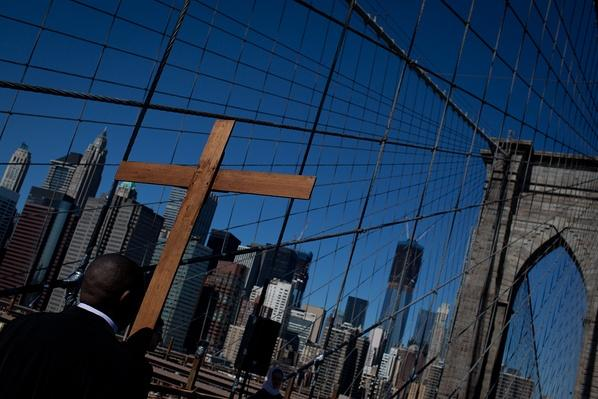 "Brooklyn Bridge ""Way of the Cross"" Procession 