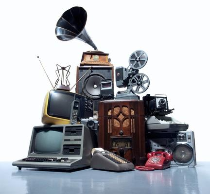 Pile of old technology | Home Entertainment Technologies
