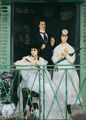 The Balcony, 1868-9