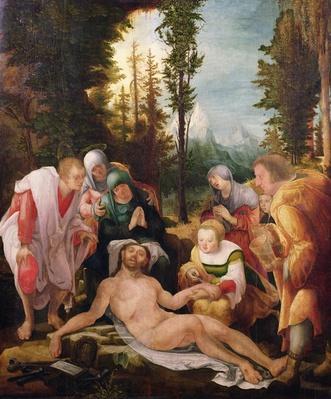 The Lamentation, 1524