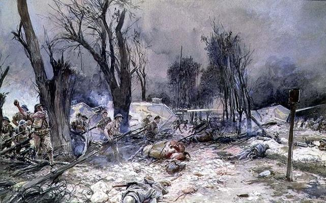 The Offensive at Saint-Pierre-Aigle, July 1918