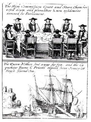 The High Commission Court and the Star Chamber Voted Down, and Queen Henrietta Maria Sent to France, 23rd February 1642