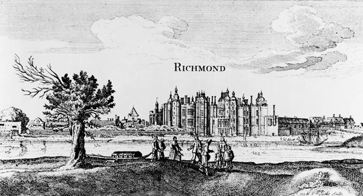 Richmond Palace, engraved by Michiel van der Gucht