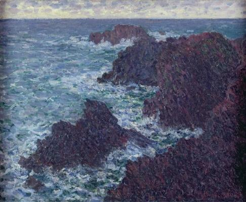 The Rocks at Belle-Ile, the Wild Coast, 1886