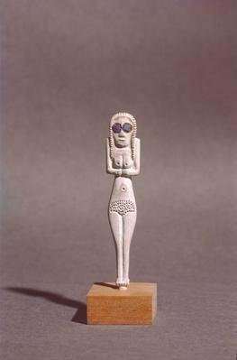 Figure of a woman, from Upper Egypt