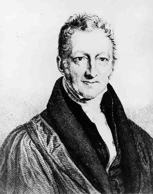 Portrait of Thomas Robert Malthus
