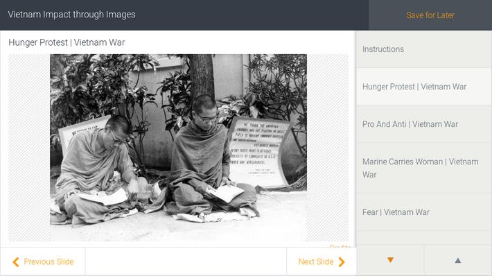 Vietnam Impact through Images