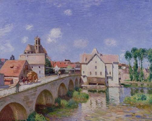 The Bridge at Moret, 1893