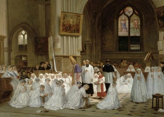 First Communion, 1867