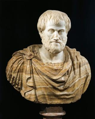 Marble and alabaster bust of Aristotle | Famous Mathematicians