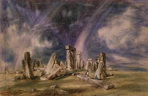 Stonehenge, 1835