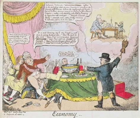 'Economy', published by Johnston, London, May 1816