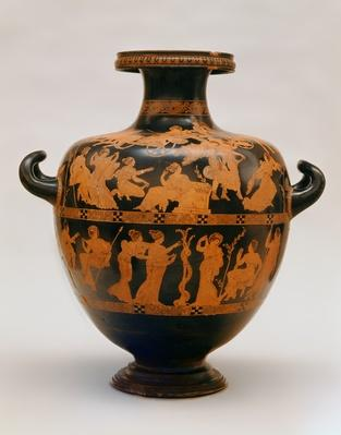 Red-figure hydria by the Medias Painter, Athens, c.420-400 BC