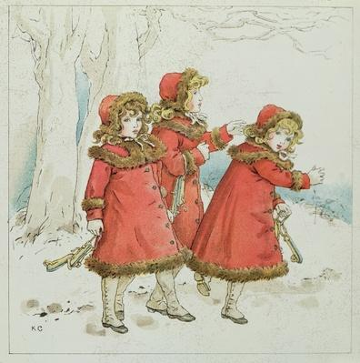 'Winter' from April Baby's Book of Tunes, 1900