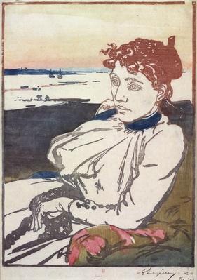 La Convalescante Mme.Lepere, 1892
