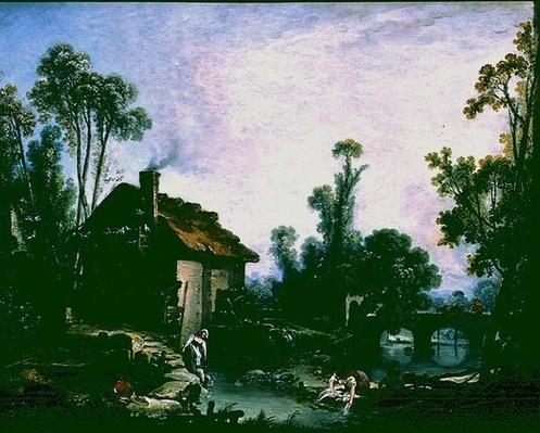 Landscape with a Watermill, 1755