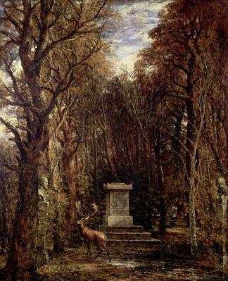 The Cenotaph to Reynold's Memory, Coleorton, c.1833