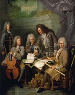 La Barre and Other Musicians, c.1710