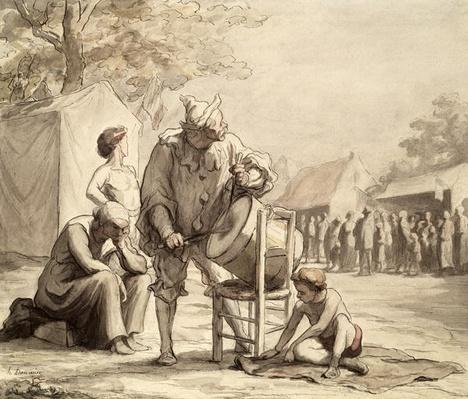 Acrobats at the Fair c.1865-69