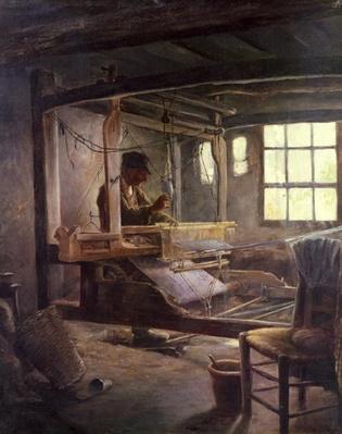 The Breton Weaver, 1888