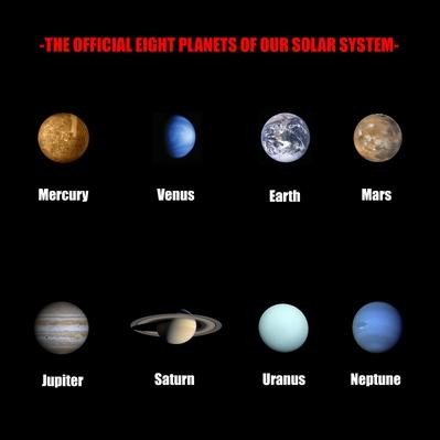 The official eight planets of our solar system | Earth and Space