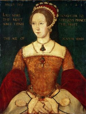 Portrait of Mary I or Mary Tudor