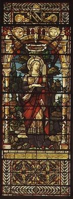 St. Cecilia, by Mayer and Co., Munich based firm active in UK, c.1885