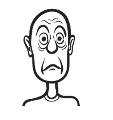 Whiteboard Drawing: Humor, Cartoon Faces | Clipart